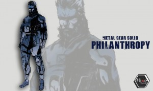 metal gear solid philantropy solid snake