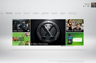 xbox dashboard ui