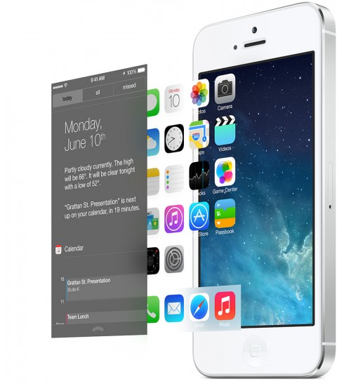 iOS 7 design user interface